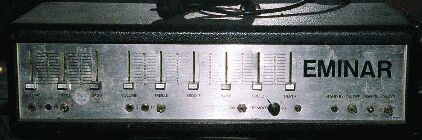 Front with sliders