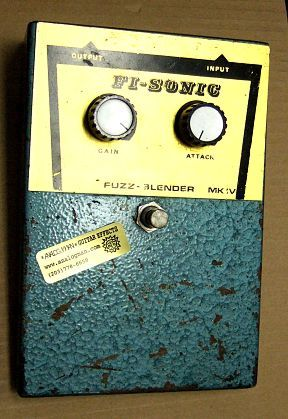 Fi-Sonic fuzzbox