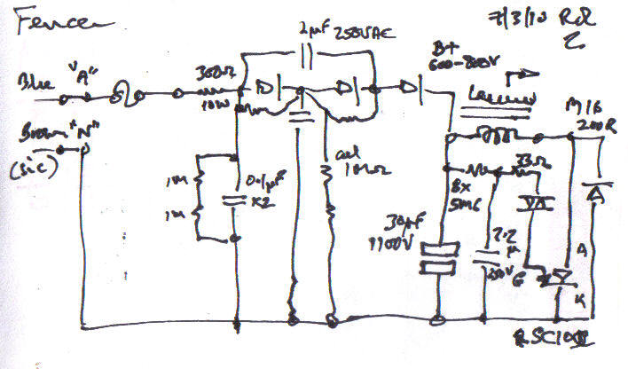 Electric Fencer Repairrhozvalvesorg: Electric Fence Charger Schematic At Gmaili.net
