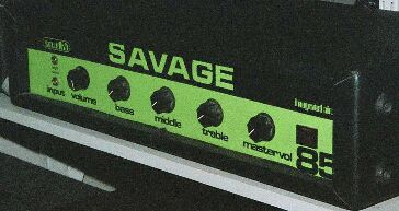 Savage solid state guitar amp