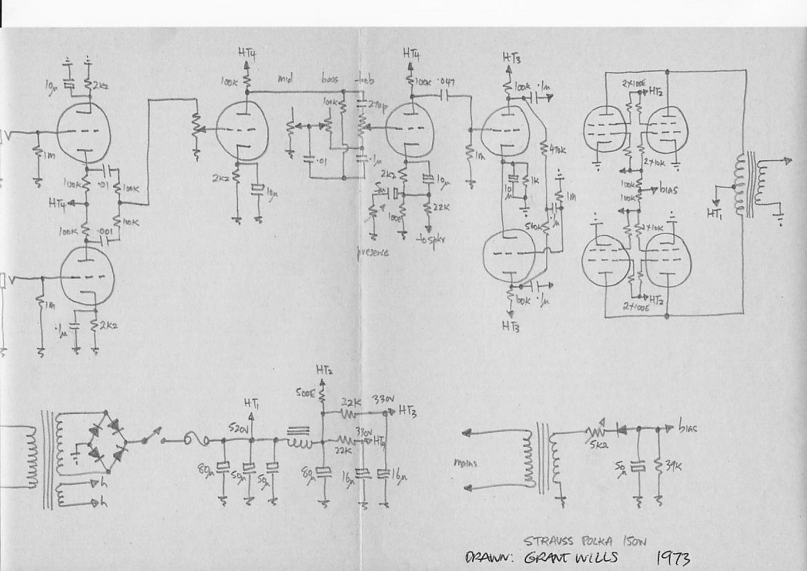 Strauss Vox Ac30 Wiring Circuit Tracing