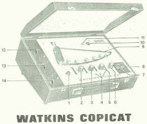 Watkins Copicat tape echo (UK)